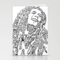 marley Stationery Cards featuring Marley by Ron Goswami