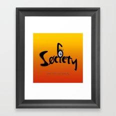 S6 Tireless Artists Framed Art Print