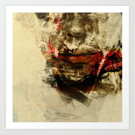The Human Race Art Print