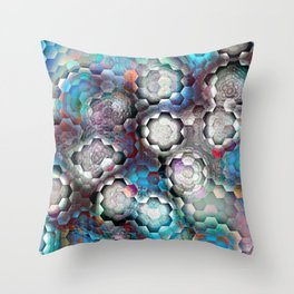 abstract bp Throw Pillow