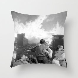 Privilege Throw Pillow
