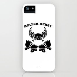 Roller Derby Wings iPhone Case