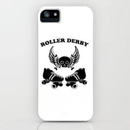 Roller Derby Wings iPhone Case
