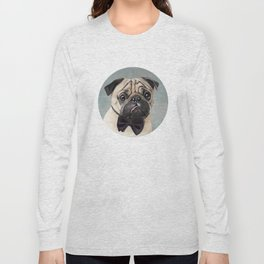 Mr Pug Long Sleeve T-shirt