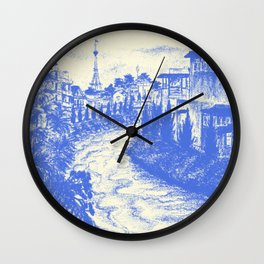 Dalat city Wall Clock