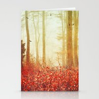 silence of the lambs Stationery Cards featuring silence by Dirk Wuestenhagen Imagery