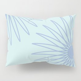 Sea Foam and Periwinkle Pillow Sham