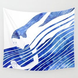 Water Nymph LXV Wall Tapestry