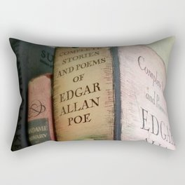 Pink Poe Rectangular Pillow