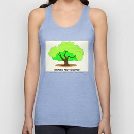 Oak Tree Flag Unisex Tank Top