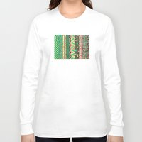 nyc Long Sleeve T-shirts featuring NYC by Mariana Beldi