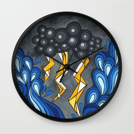 Bring The Thunder Wall Clock