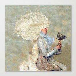 The Feather Affair Canvas Print