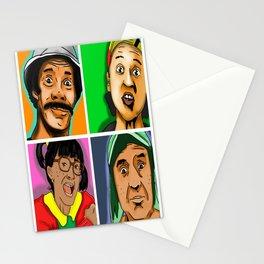 El Chavo Del Ocho Stationery Cards