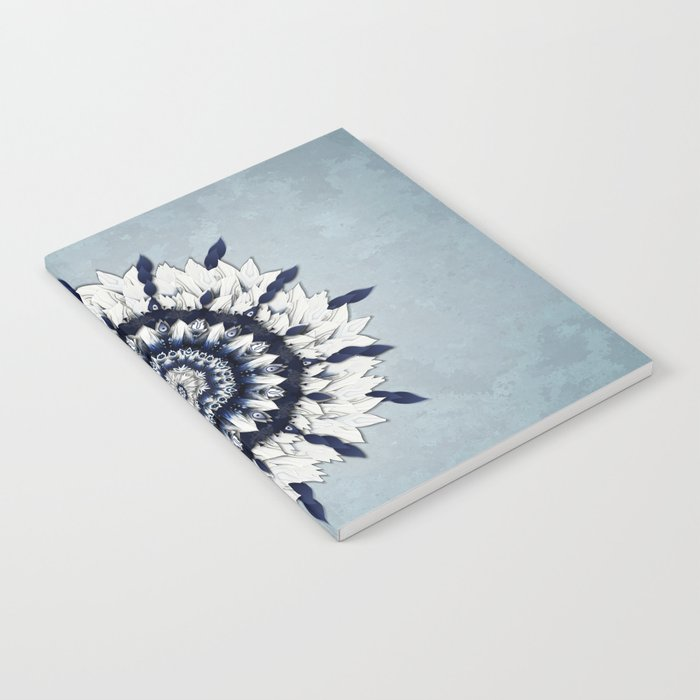 Blue Sash Mandala Notebook