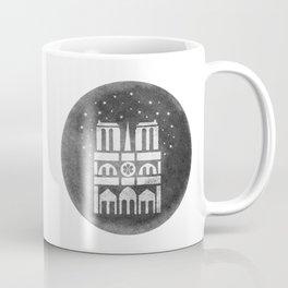 Notre-Dame sous les etoiles Coffee Mug
