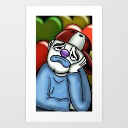 Love payaso  Art Print