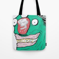 When minds wander.... Tote Bag