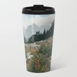 High Country Wildflowers Travel Mug