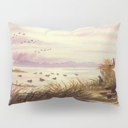 Duck Hunting Companions Pillow Sham