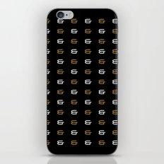 Ampersand Pattern iPhone & iPod Skin