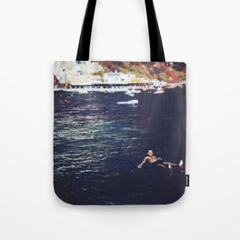 swim for your life Tote Bag