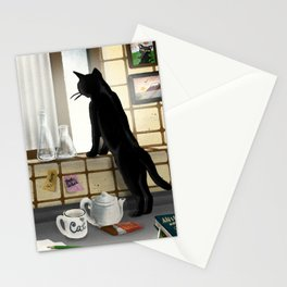 Out of the window Stationery Cards