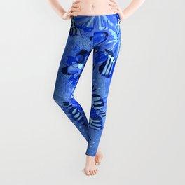 Blue Sundial Leggings