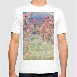 Monet, The House Among The Roses, 1917-1919 T-shirt