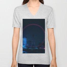 London, England 38 Unisex V-Neck