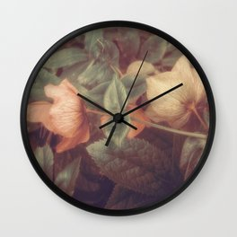 SECRET FLOWERS OF PARADOX Wall Clock