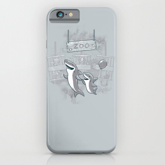 shark zoo iPhone & iPod Case