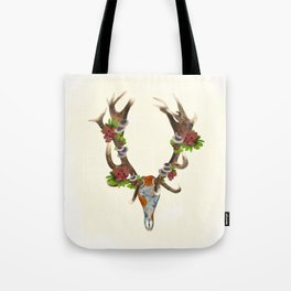 The Red Stag Tote Bag