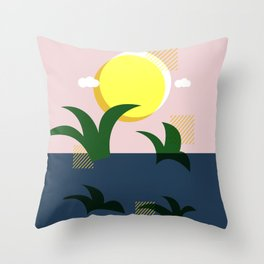 A Beautiful Morning Throw Pillow