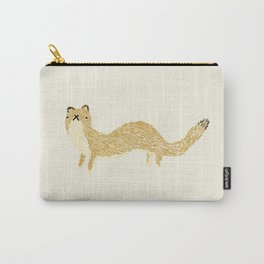 Fluffy Weasel Carry-All Pouch