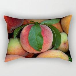 Peachy Peaches Rectangular Pillow
