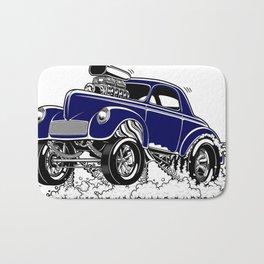 1941 WILLYS Classic Rodder - Blue Bath Mat