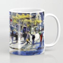 East 42nd Street Van Gogh Coffee Mug