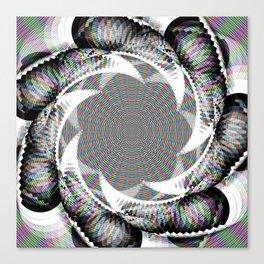 Circular Fantasy Canvas Print