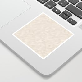 Cavern Clay SW 7701 Thin Pinstripe Angled Lines on Creamy Off White SW7012 Sticker
