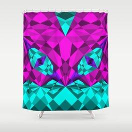 Kaleidoscope Eyes Shower Curtain