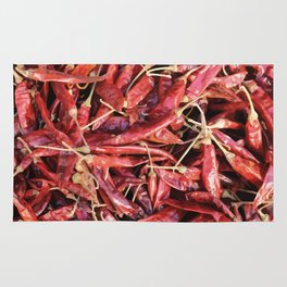 Chili Chipotle red hot Rug