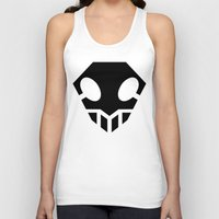bleach Tank Tops featuring Bleach Skull 2 by Prince Of Darkness