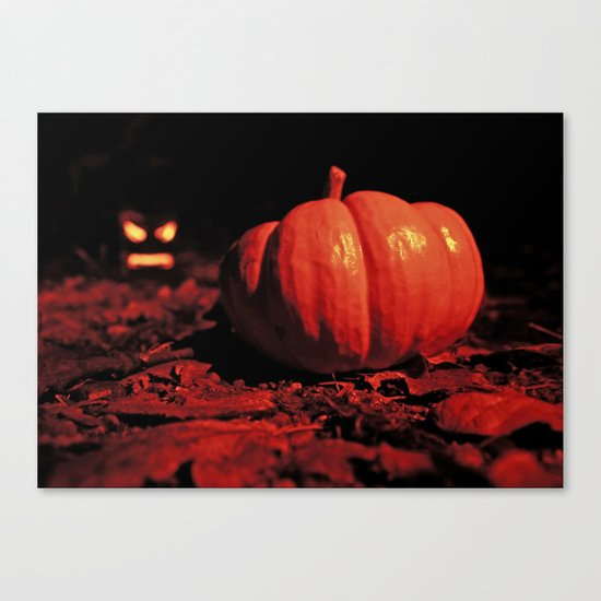 October surprise Canvas Print