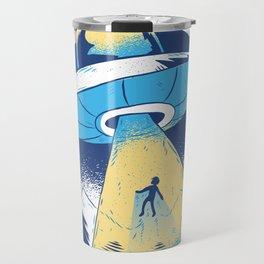 Alien abduction Travel Mug
