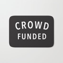 Crowd Funded Bath Mat