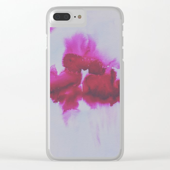 tragic Clear iPhone Case