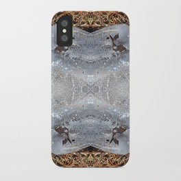 Ice Jewels and Pine Needles - Debra Cortese photo art iPhone Case