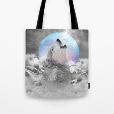 Maybe the Wolf Is In Love with the Moon / Unrequited Love Tote Bag