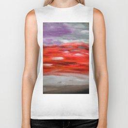 Serenity Abstract Landscape 3 Biker Tank